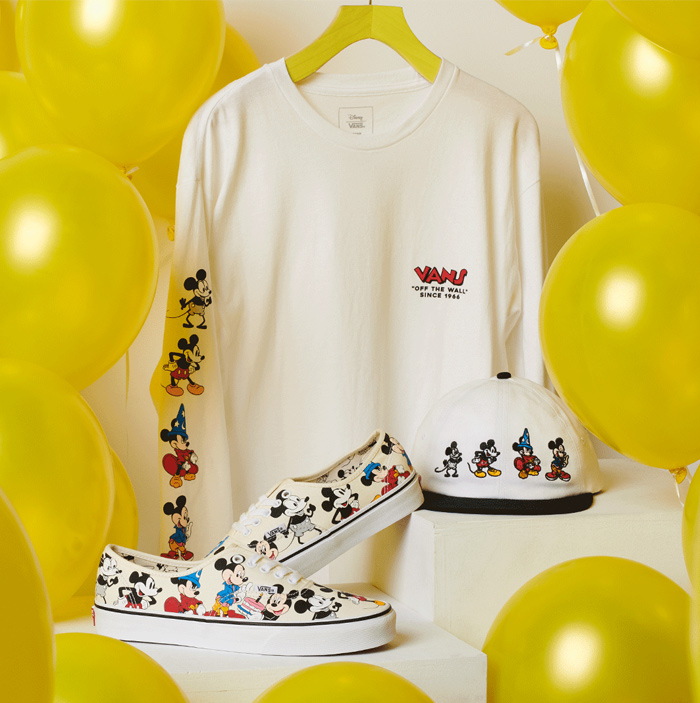 Vans Mickey Mouse Collection